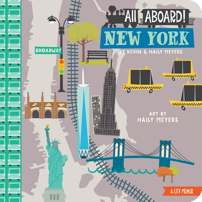 New York City Halloween Activities (All Aboard! New York: A City Primer (Board)