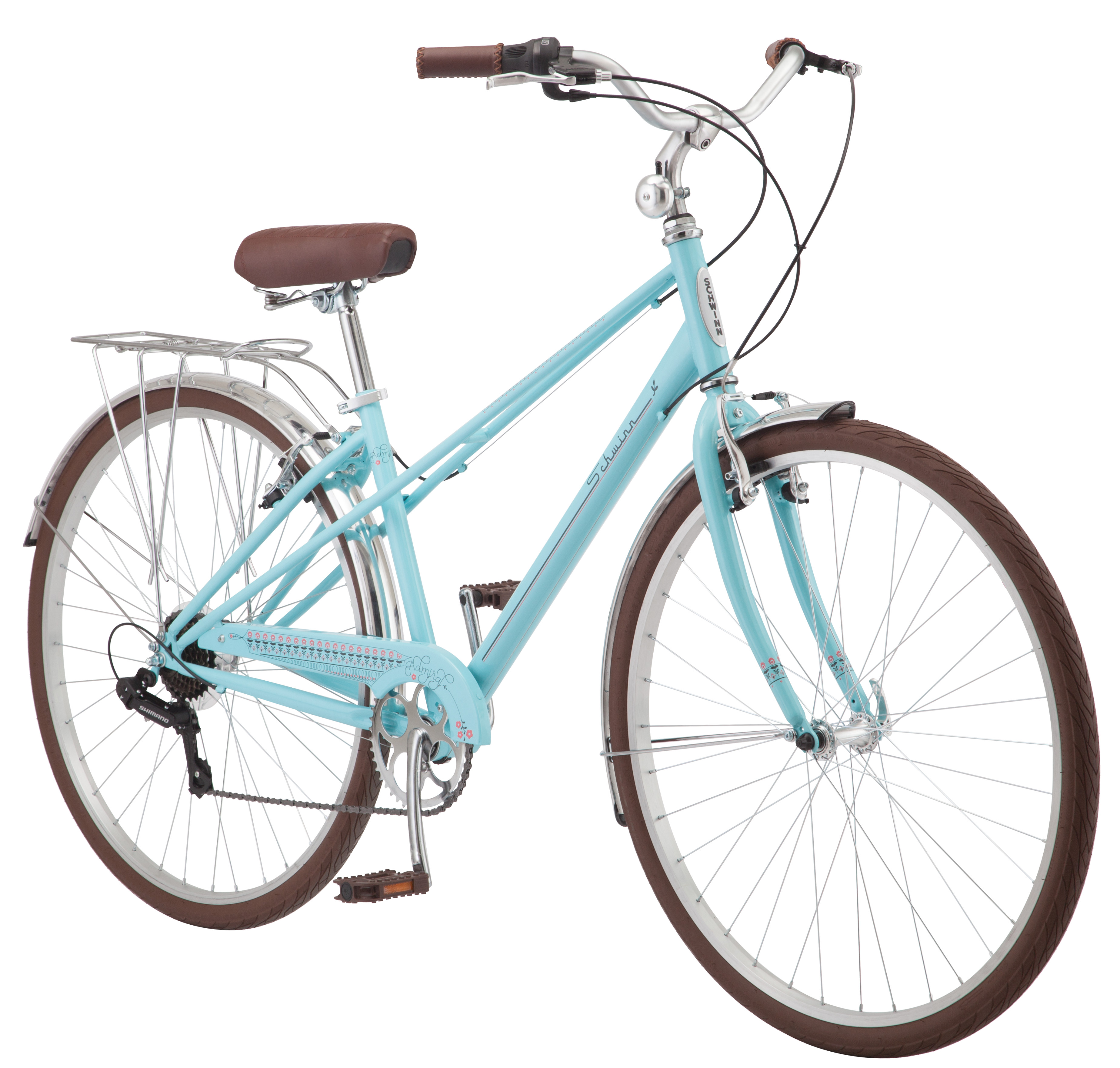 700C Ladies Schwinn Admiral Bike, Aqua