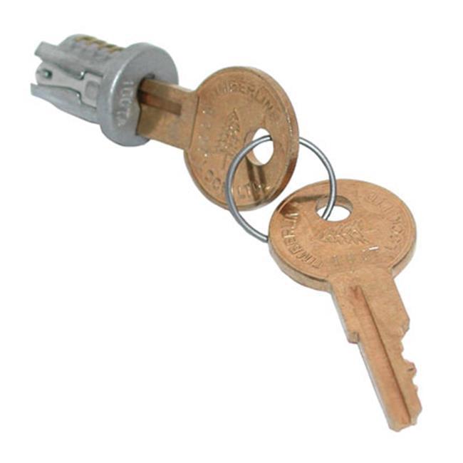 HD TLLP 700 109TA Timberline Lock Plug Satin Nickel Keyed Alike - Key Number 109