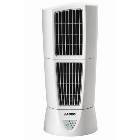 Lasko Desktop Wind Tower Fan in White ()