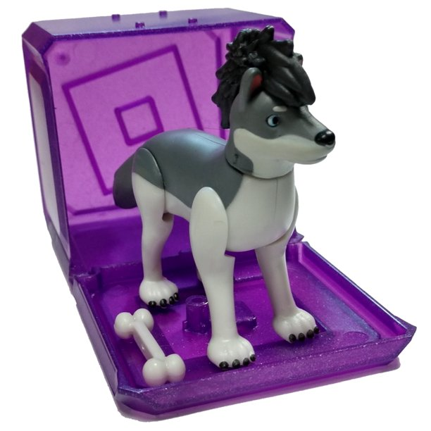 Roblox Wolves Life Roblox Celebrity Collection Series 3 Wolves Life 3 Pup Mini Figure With Cube And Online Code No Packaging Walmart Com Walmart Com
