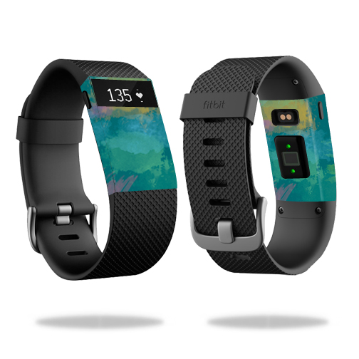 MightySkins Skin for Fitbit Charge 3 - Bright Smoke | Protective, Durable, and Unique Vinyl Decal wrap cover | Easy To Apply, Remove, and Change Styles | Made in the USA
