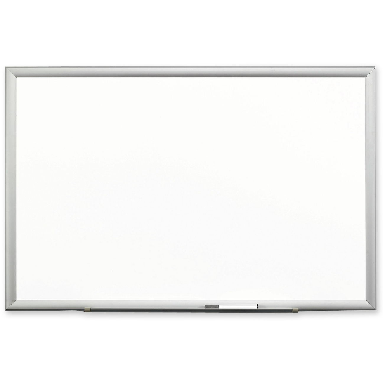 3M DEP9648A 96 x 48in Porcelain Dry Erase Board with 4 Dr...