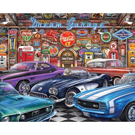 Springbok Puzzles Dream Garage - 1000 Piece Jigsaw