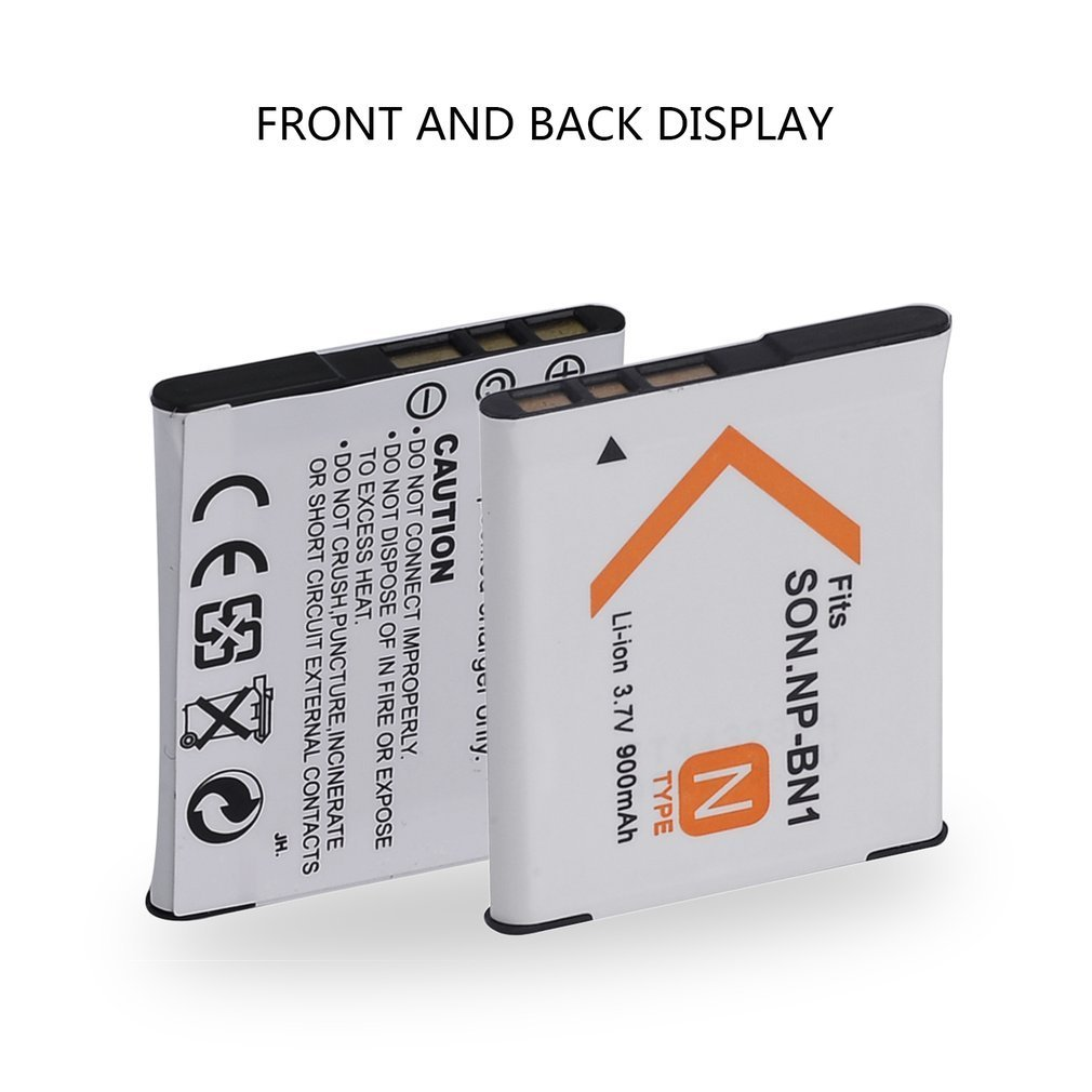 Np Bn1 Rechargeable Lithium Ion Camera Battery For Sony Digital High Recycle Life 37v 900mah