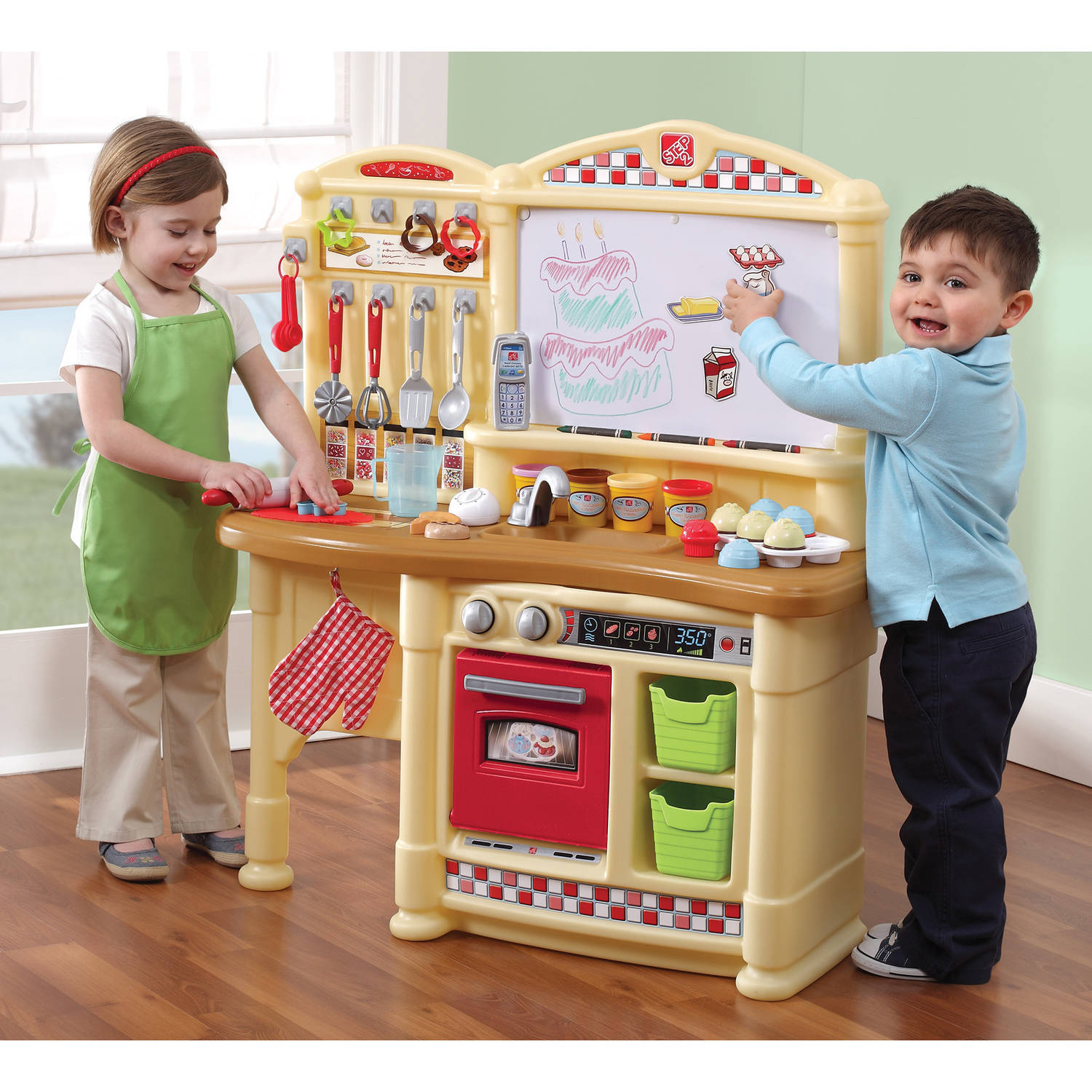 lifestyle deluxe kitchen kids play kitchen step2 within step 2