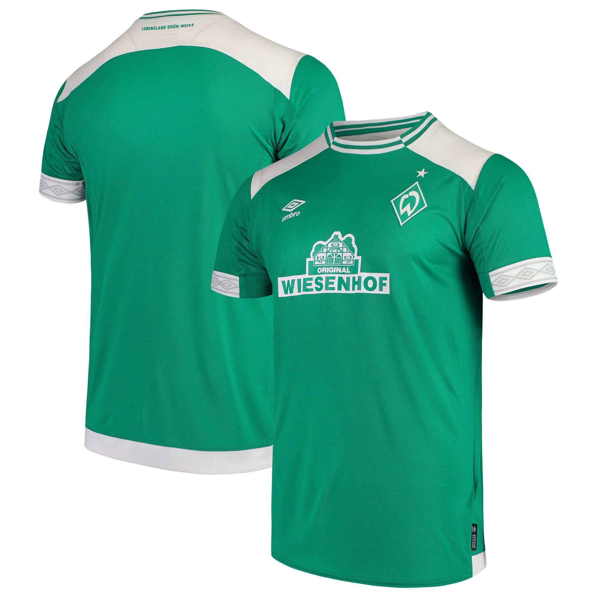 SV Werder Bremen Umbro 2018/19 Home Replica Jersey - Green