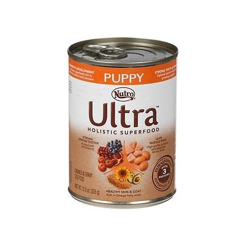 Nutro Ultra Puppy Chunks in Gravy Canned Dog Food