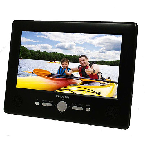 "Axion 9"" Widescreen Portable Hand-Held TV"