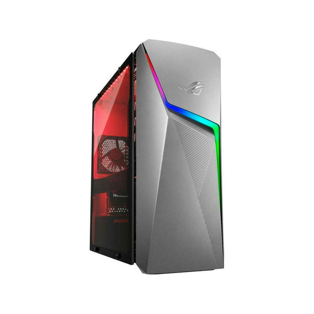 ROG Strix GL10DH Gaming Desktop PC, AMD Ryzen 7 3700X, GeForce GTX 1660 Ti, 16 GB DDR4 RAM, 512 GB SSD, Wi-Fi 5, Windows 10 Home, GL10DH-AH762 Computer