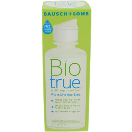 Bausch & Lomb For Soft Contact Lenses Multi-Purpose Solution, 4 oz