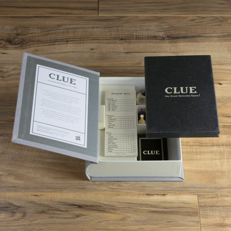 Clue Game Linen Book Vintage Edition Vintage Book Game