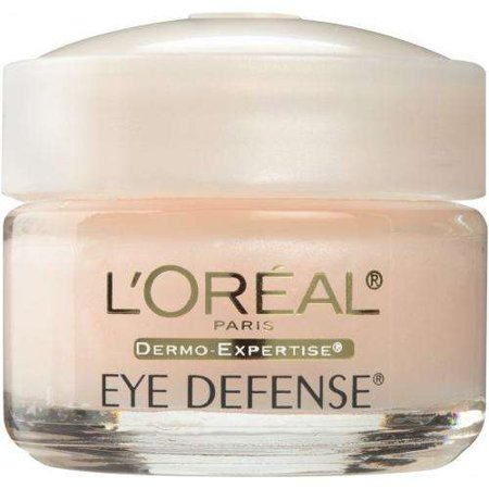 L'Oreal Paris Dermo-Expertise Eye Defense Under Eye Cream for Dark Circles, 0.5