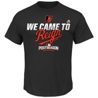 Baltimore Orioles Majestic 2016 Postseason Authentic Collection Came to Reign Playoff T-Shirt - Black