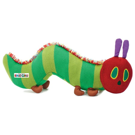 The World of Eric Carle The Very Hungry Caterpillar Knit Plush (Eric Carle Toys)