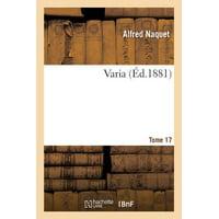 Varia Tome 17