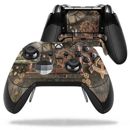 Room Controller - Skin Decal Wrap for Microsoft Xbox One Elite Controller Steam Punk Room