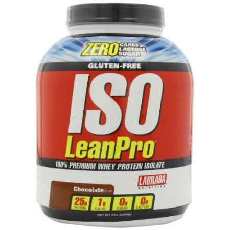 Labrada ISO LeanPro Whey Protein Isolate, Chocolate, 5 Lb