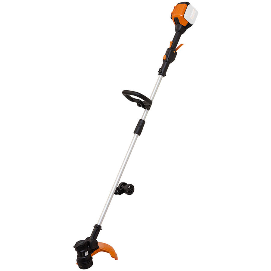 "WORX 13"" Cordless Grass Trimmer, 56V Max Li-Ion, Wheeled Edging, Bare Tool by Positec Usa Inc"