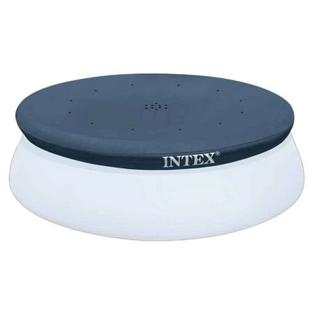 Intex 10 Foot Easy Set Above Ground Swimming Pool Debris Vinyl Round Cover