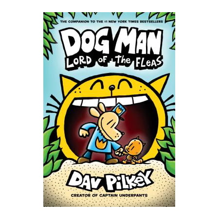 New Halloween Children's Books (Dog Man: Lord of the Fleas)
