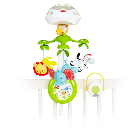 Fisher-Price 3-in-1 Deluxe Projection Mobile (Rainforest Mobile)