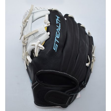 "Easton 11.75"" Stealth Pro Series Fastpitch Softball Glove, Left Hand Throw"
