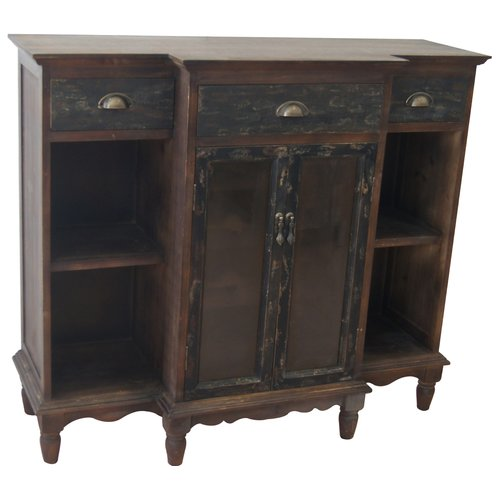 Crestview Collection Wendover Wine Cabinet