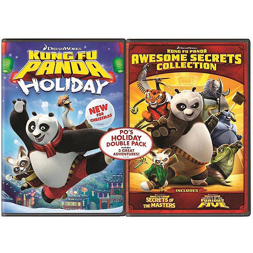 Po's Holiday Double Pack: Kung Fu Panda Holiday / Kung Fu Panda Awesome Secrets Collection (Widescreen)