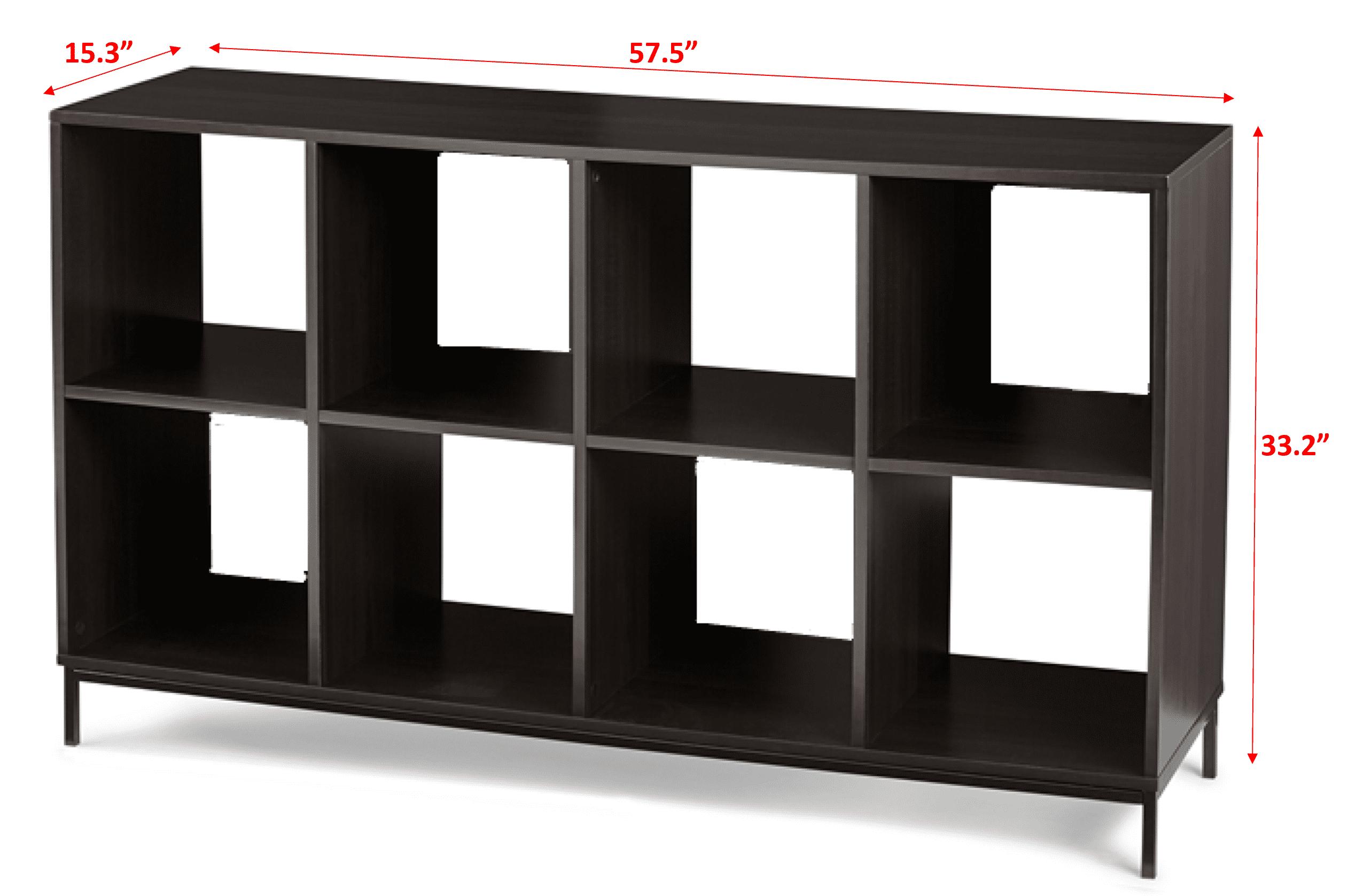 8 Cube Storage Organizer Bookshelf Rack Home /& Garden Bookcase Cabinet Shelves