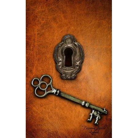 Password Journal Logbook  Lock   Key  Alphabetical 5 X8  Password Keeper