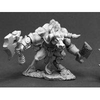 Cretus Minotaur Miniature 25mm Heroic Scale Dark Heaven Legends Reaper Miniatures