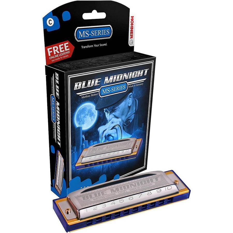 Hohner Modular System Blue Midnight Diatonic Harmonica, Key of G