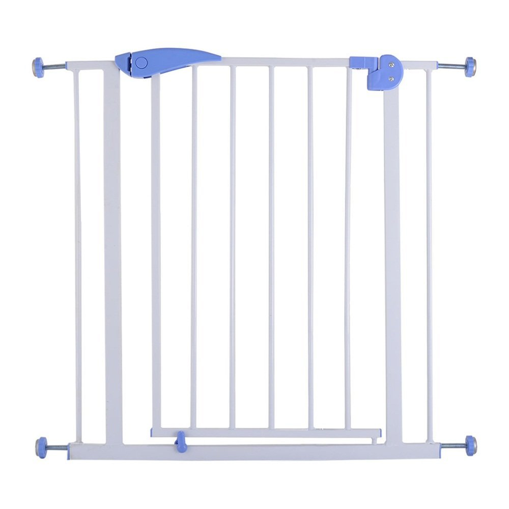 Baby Safety Gate Door Durability And Strength Walk Through Child Toddler Pet Metal Easy Locking System The Easy Close Handle New, Brand New And High.., By Majithaishop From USA