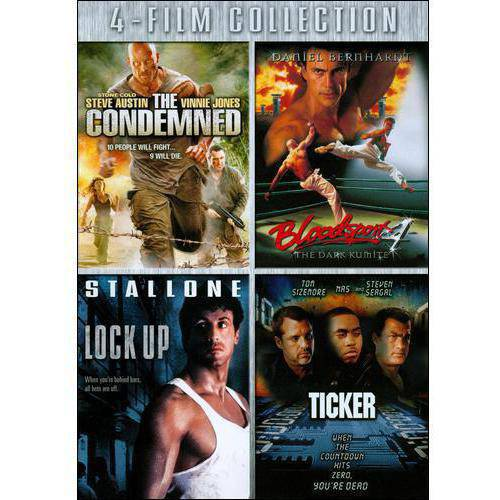 The Condemned / Bloodsport 4 / Lock Up / Ticker