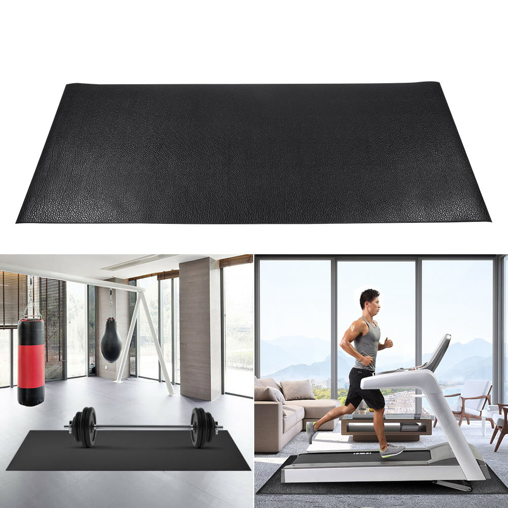Treadmill Mat Large Floor Protector Exercise Fitness Gym