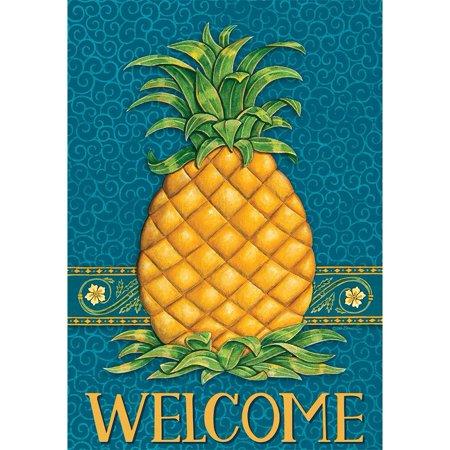Pineapple Welcome House - Custom Decor House Flag - Pineapple Welcome