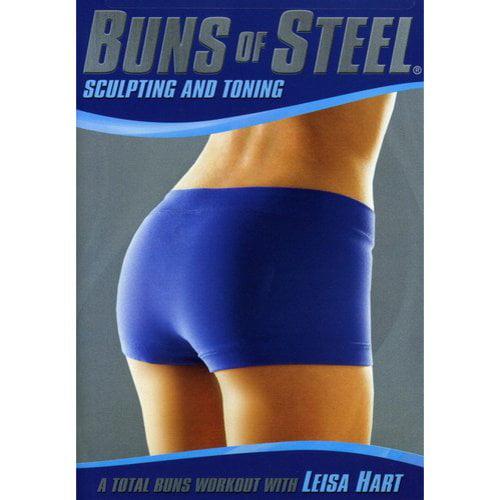 BUNS OF STEEL-SCULPTING & TONING (DVD)