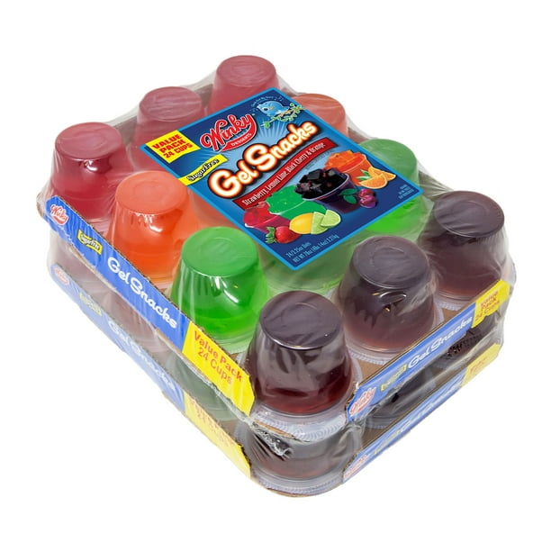 Winky Sugar Free Gelatin 78oz 24 Pk 3 25oz Walmart Com Walmart Com