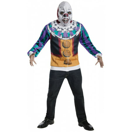 Pennywise Hoodie Adult Costume - X-Large