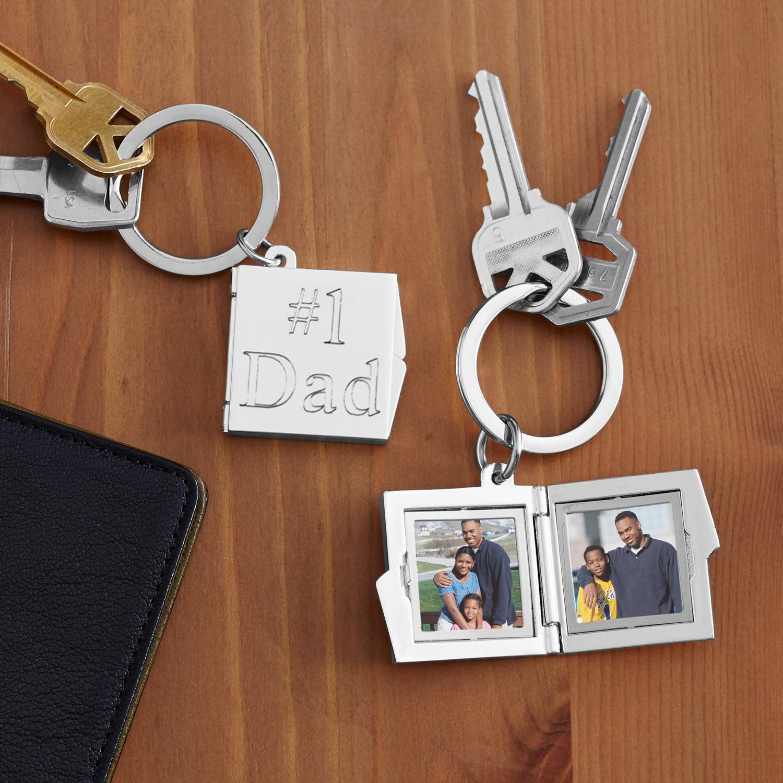 Personalized Locket Key Chain