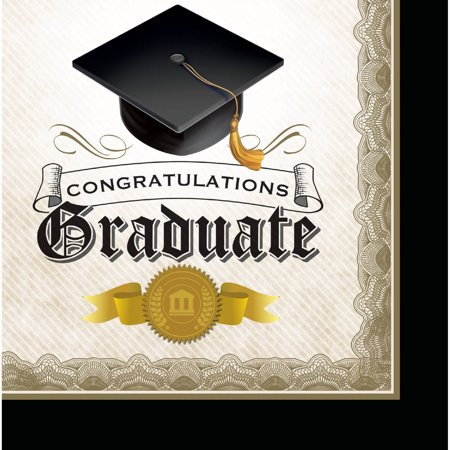 fda1047ae64 Cap and Gown Graduation Napkins