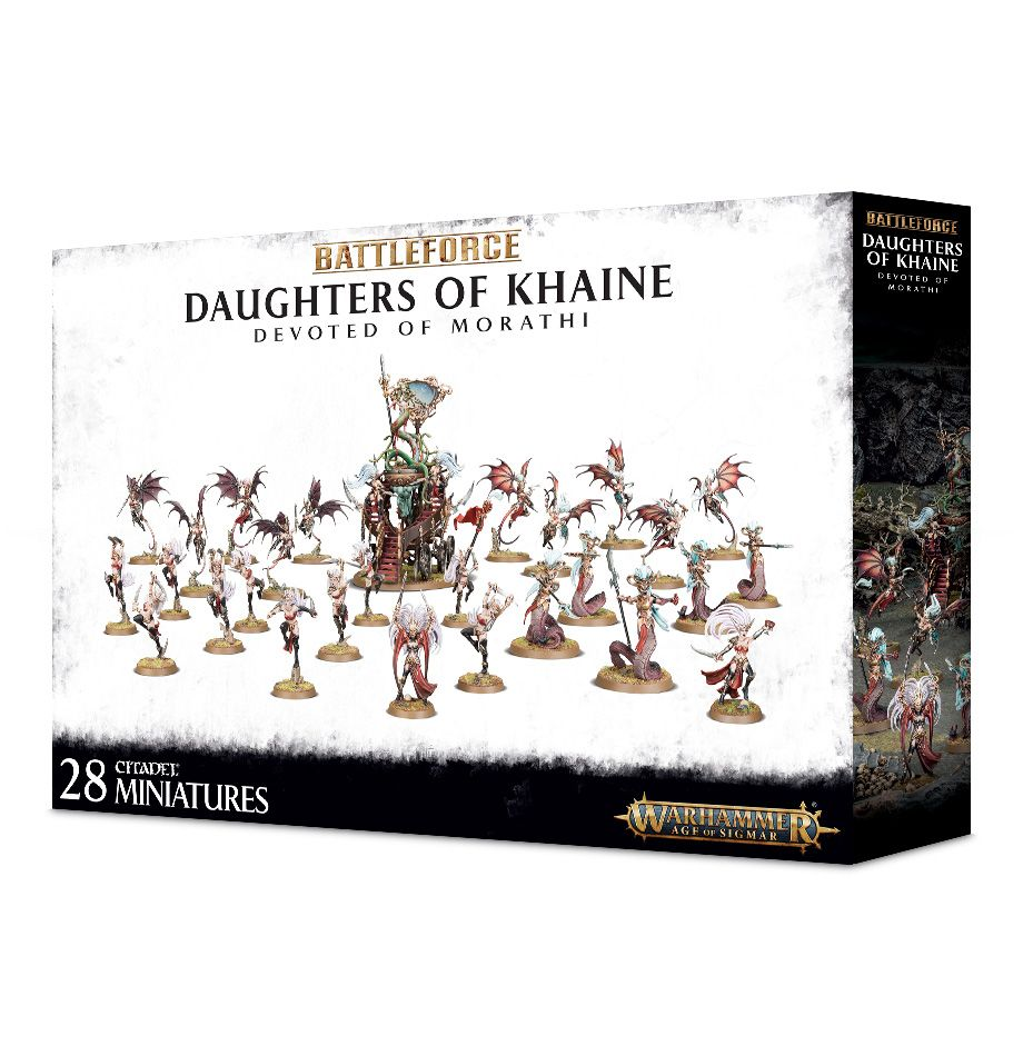 Battleforce Daughters of Khaine Devoted of Morathi Warhammer Age of Sigmar by Games Workshop
