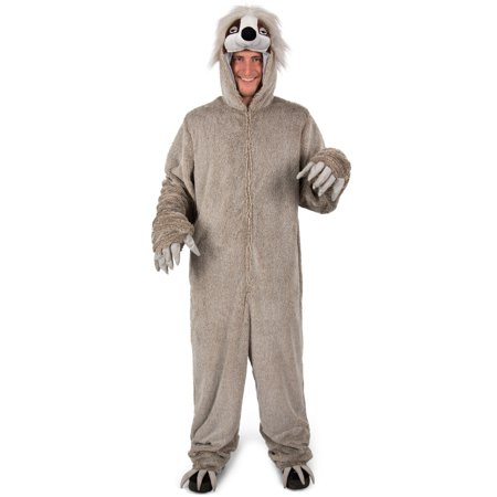 Mens Adult Swift The Sloth Halloween Costume (Sloth Animal Halloween Costume)