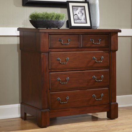 Home Styles The Aspen Collection Drawer Chest, Rustic Cherry ()