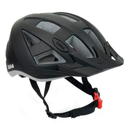 Zefal Black Universal Dial Fit Light-Up Helmet (17 Vents, 2 Modes) - Blow Up Helmet