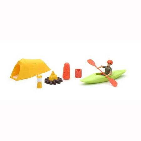 Xtreme Camping and Kayak Adventure Playset