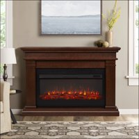 Beau Electric Fireplace in Dk Walnut by Real Flame