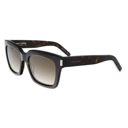 14068f33c0 Saint Laurent - Saint Laurent SL BOLD 1-004 Dark Havana Square Sunglasses -  Walmart.com