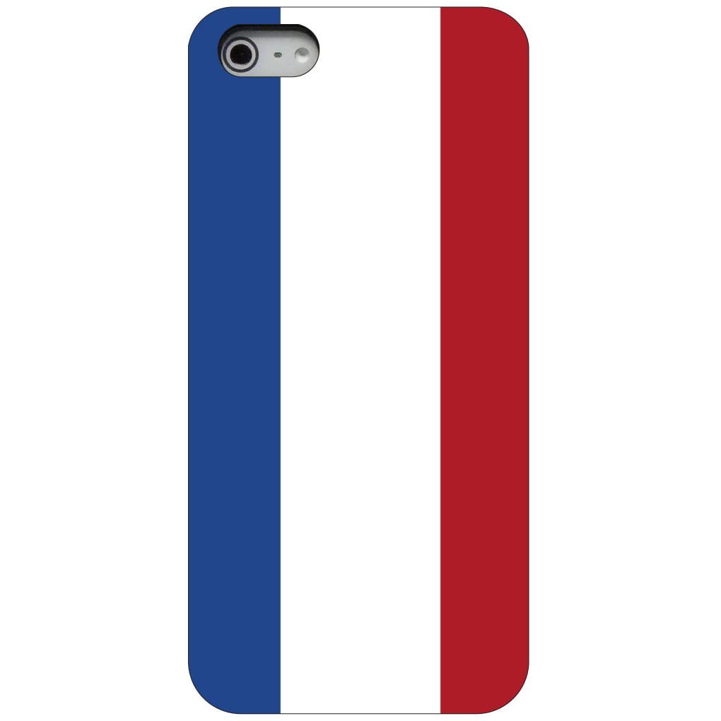 CUSTOM Black Hard Plastic Snap-On Case for Apple iPhone 5   5S   SE Holland Flag